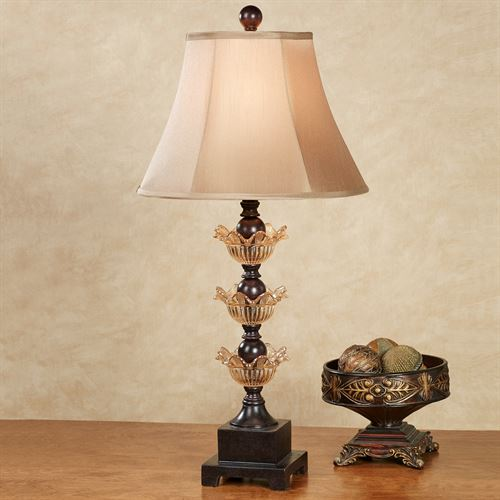 Hak Kun Table Lamp Bronze Each with LED Bulb