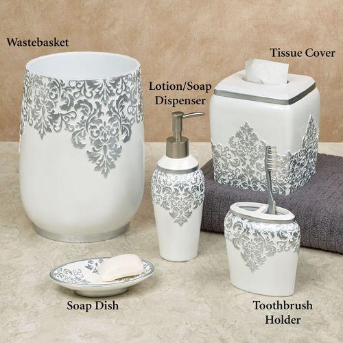 Ettore Lotion Soap Dispenser Ivory