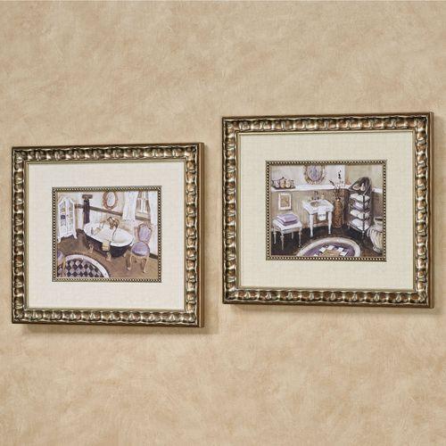 Lavender Retreat Framed Bathroom Wall Art