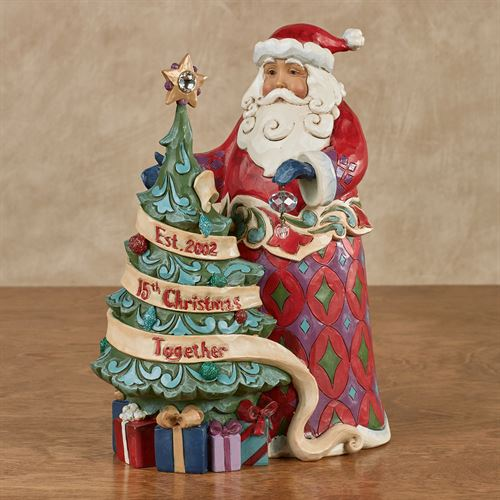 15th Christmas Together Figurine Red