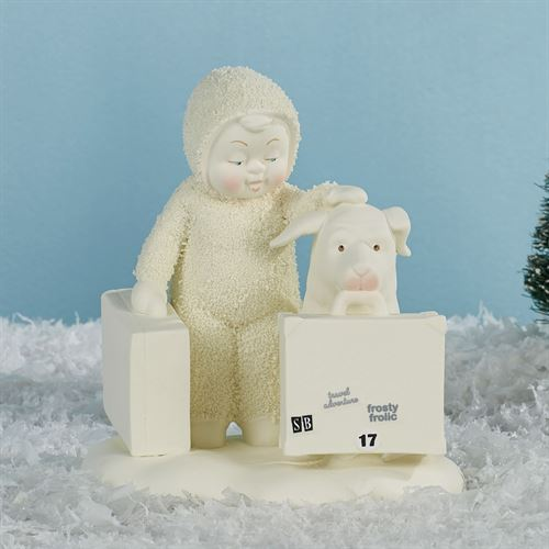 Travel Buddies Snowbaby Figurine Ivory