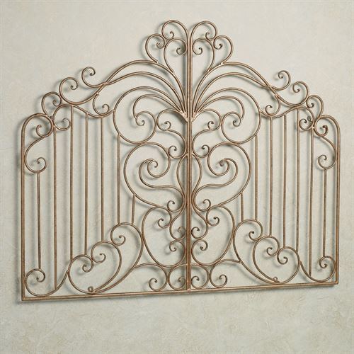 Gates of Florence Wall Grille Antique Gold