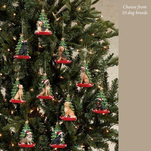 Beagle Christmas Ornament Multi Warm