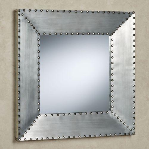 Decca Wall Mirror Pewter