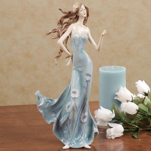 Feel the Breeze Figurine Blue