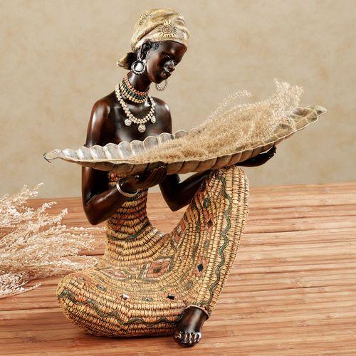 Harvest Gatherings Sculpture Goldenrod