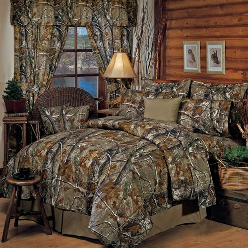 Realtree(R) Camo Comforter Set Light Taupe