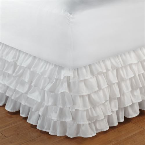 Multi Ruffle Bedskirt