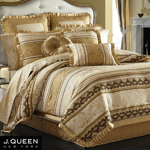 Marcello Gold Comforter Set