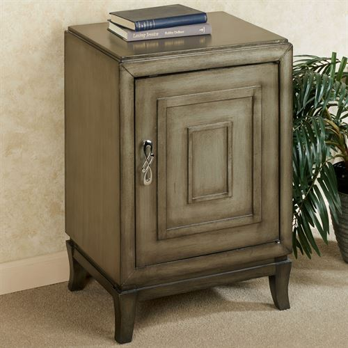 Blair Storage Cabinet Dark Gray