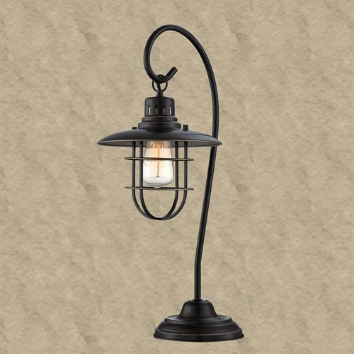 Digby Table Lamp Black/Bronze