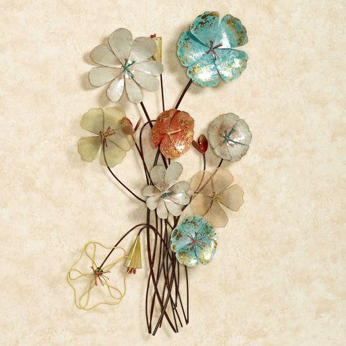 Modern Bloom Floral Wall Art Multi Bright