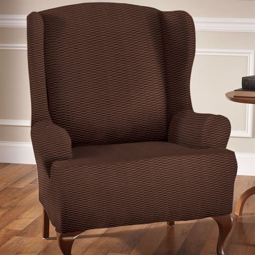 Raise the Bar Wing Chair Stretch Slipcover