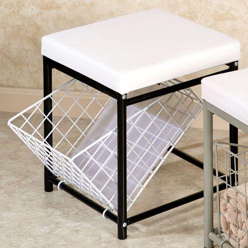vanity chair with storage. Urban Modern Storage Stool Vanity