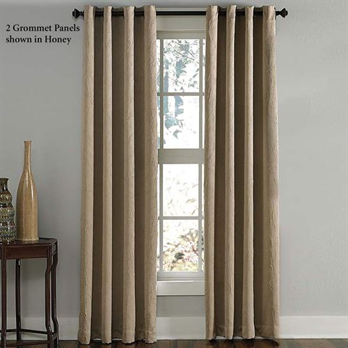 Lenox Room Darkening Grommet Curtain Panel