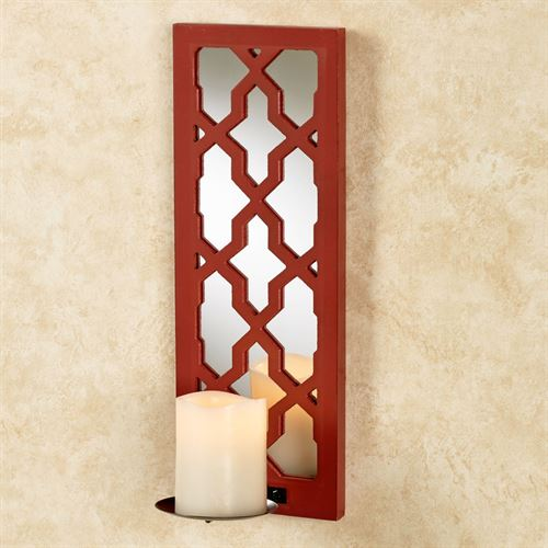 Royal Fire Wall Sconce Cranberry