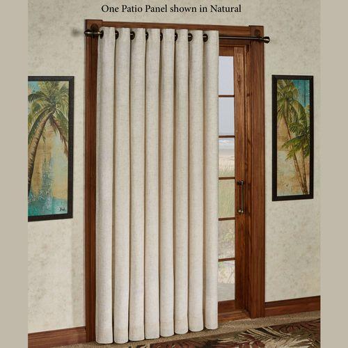 New Castle Grommet Patio Curtain Panel 106 x 84
