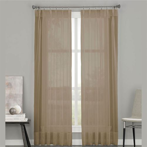 Soho Sheer Pinch Pleat Curtain Panel