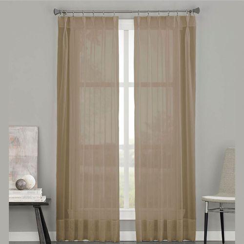 Soho Sheer Pinch Pleat Curtain Panel