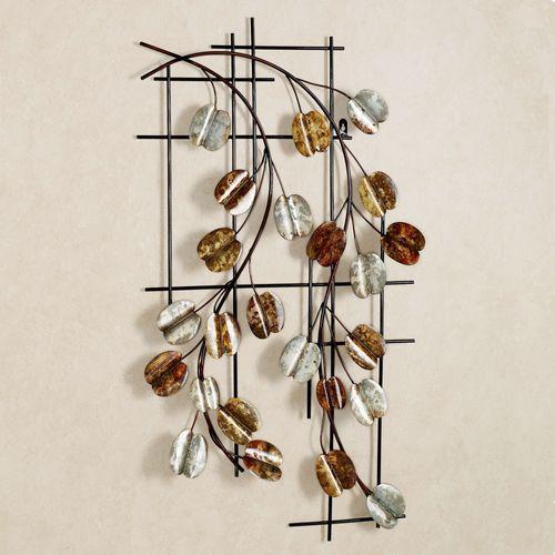 Vining Grace Wall Art Multi Metallic