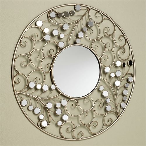 Alyssia Wall Mirror Champagne Gold