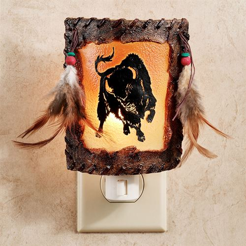 Buffalo Nightlight Golden Yellow