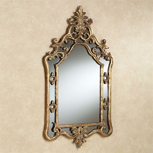 Harlan Mirror Antique Gold