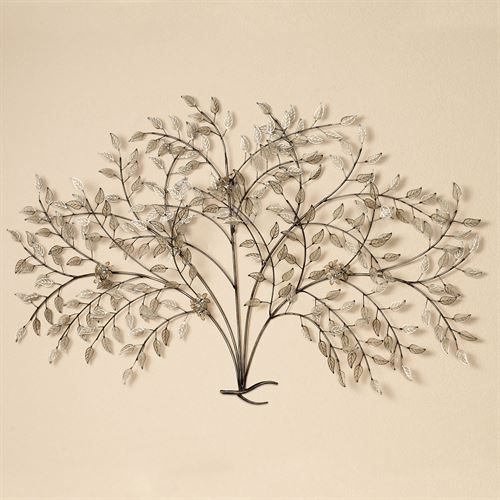 Moment of Peace Tree Wall Sculpture Cream