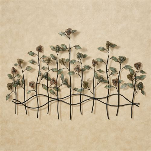 Dainty Flowers Wall Sculpture Multi Jewel