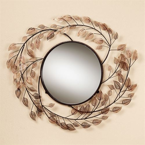 Branches at Sunrise Wall Mirror Copper