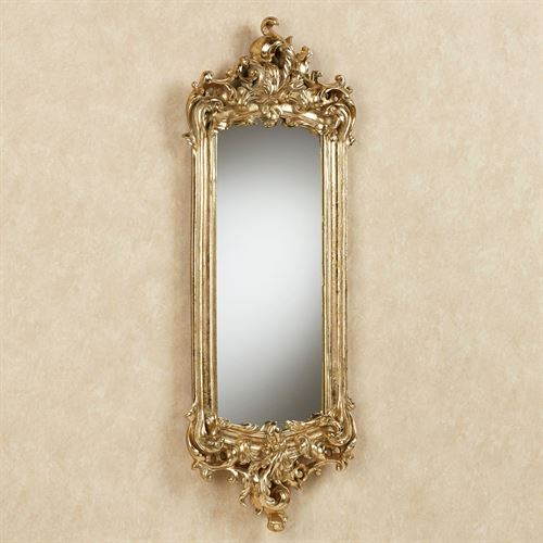 Lela Acanthus Wall Mirror Gold