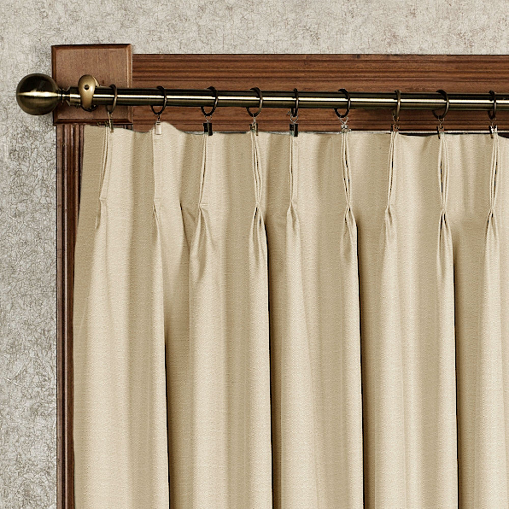 double valance striped pinch murrumbidgee curtains embossed reflective pleat