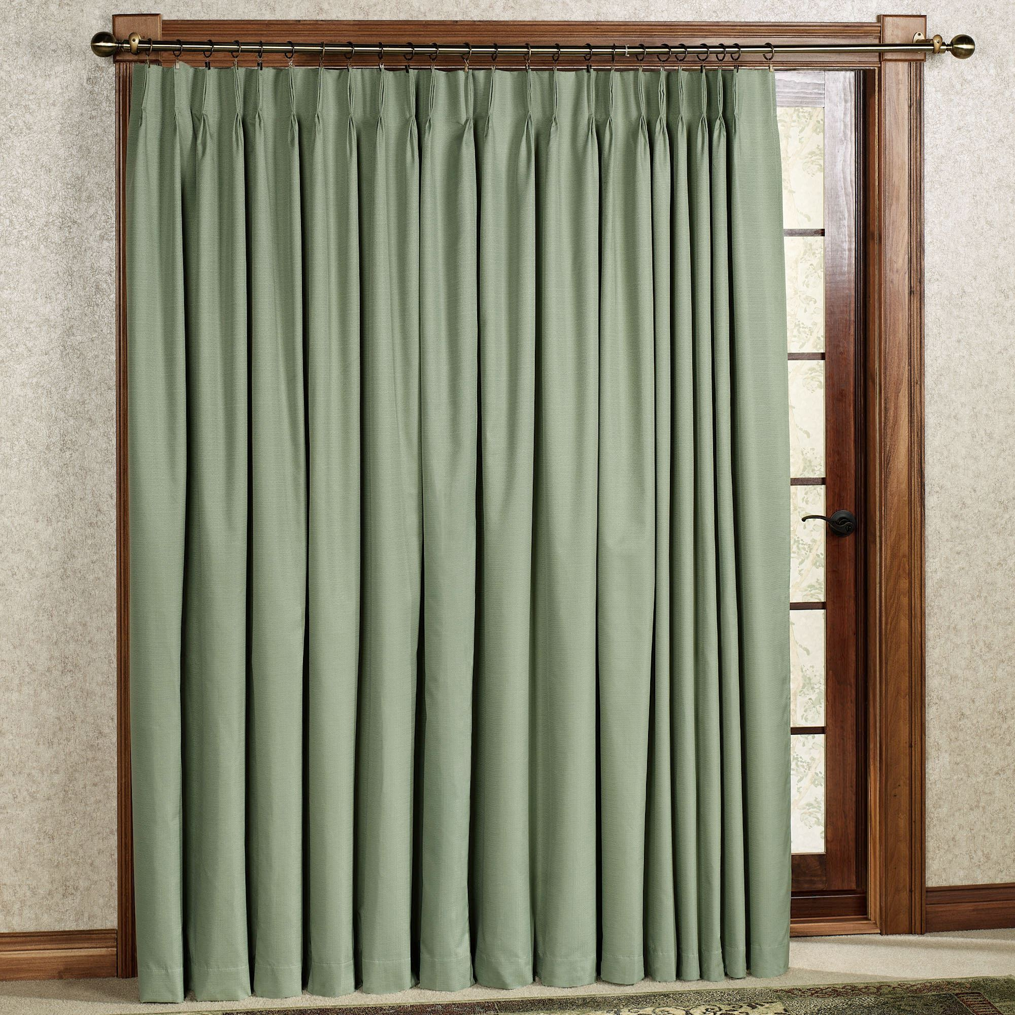Crosby Pinch Pleat Thermal Room Darkening Patio Panel