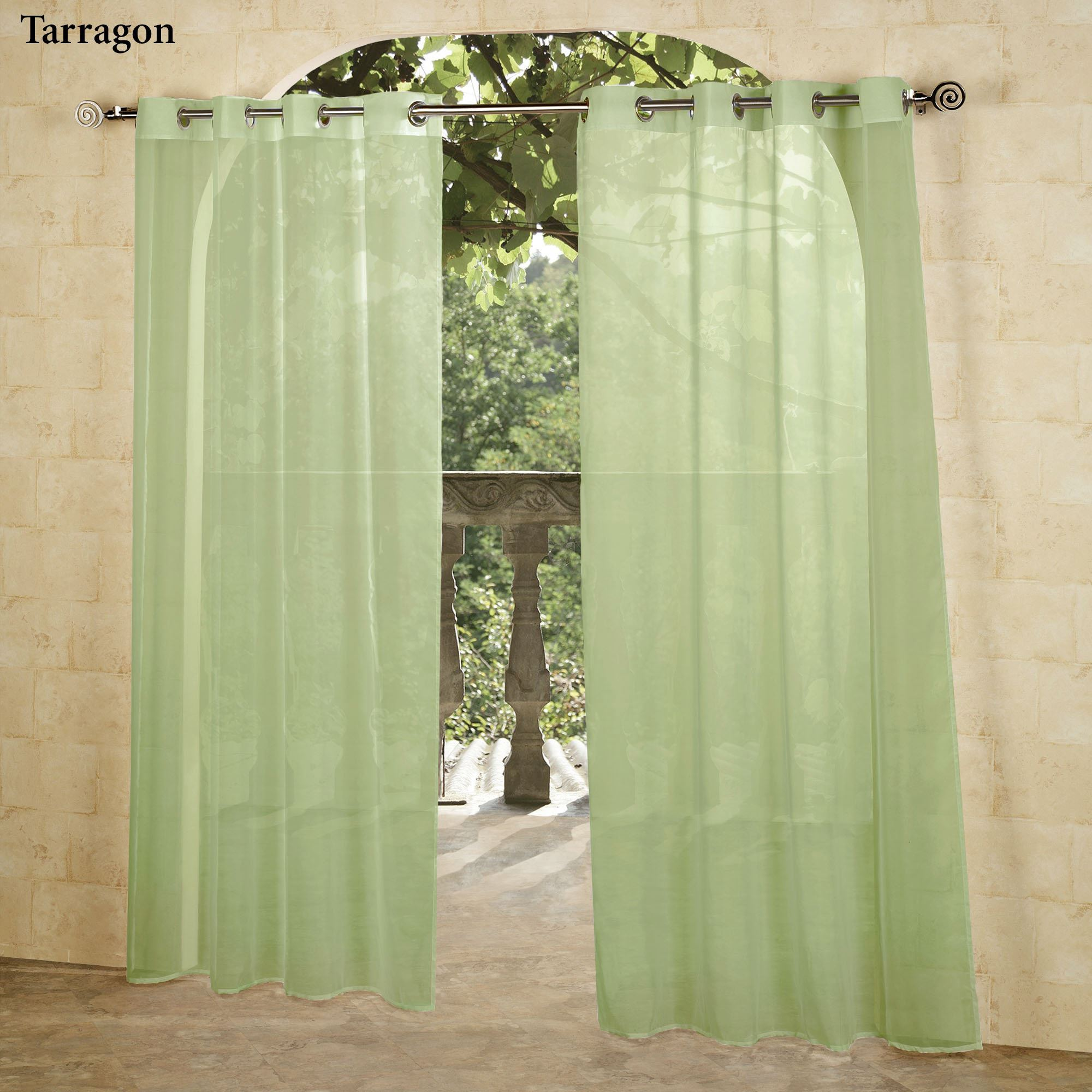 curtain sheer panels designs grommet outdoor white escape