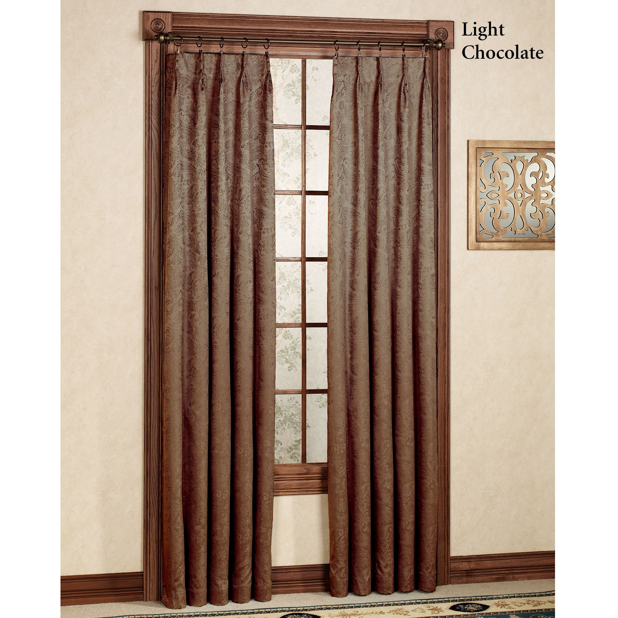 Pinch Pleated Thermal Insulated Drapes: Gabrielle Pinch Pleat Thermal Room Darkening Curtains