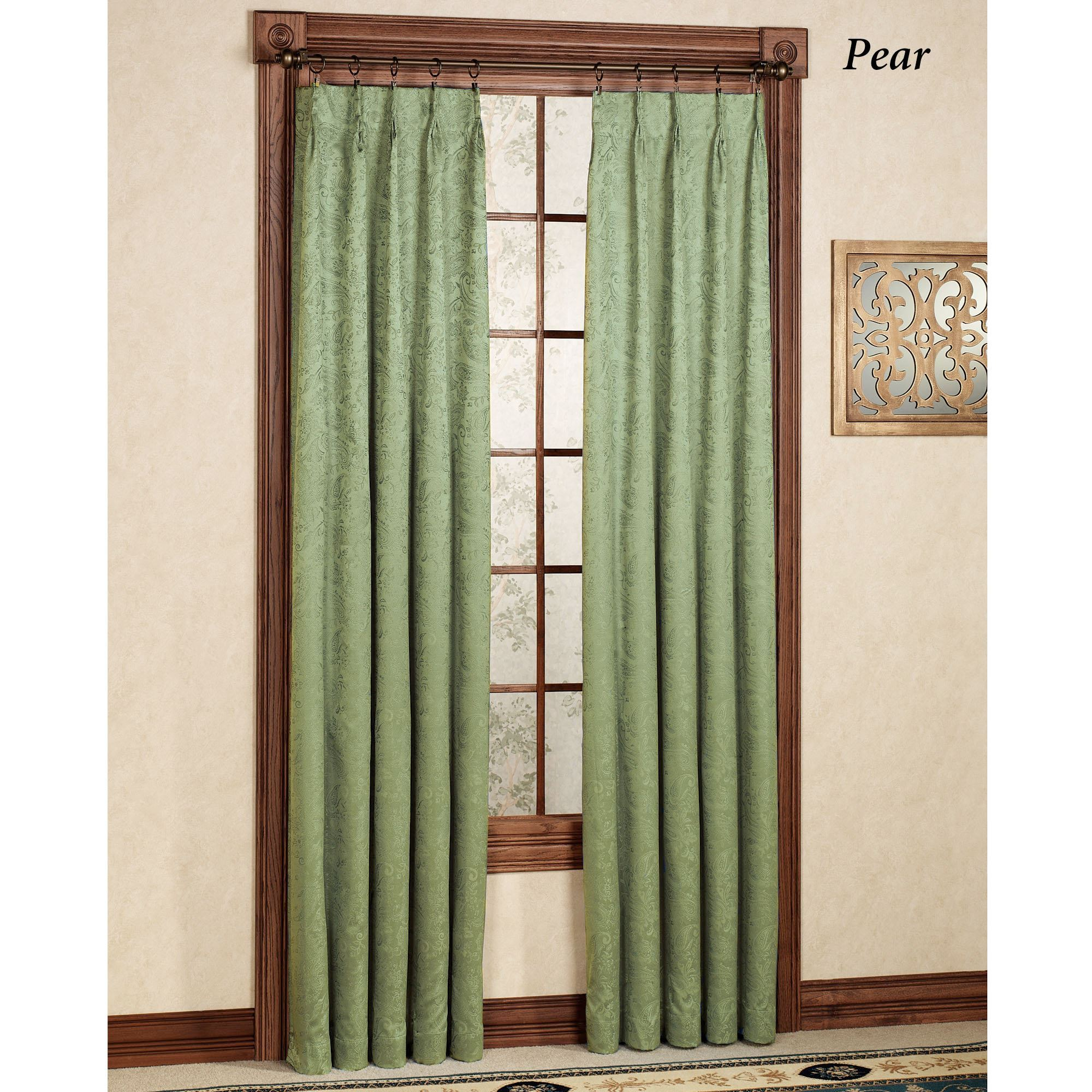to pinch curtain pleat beige panels with one clip hang hooks rod drapes curtains pocket panel way brass rods how sheer thermal inch for decorating traverse pleated