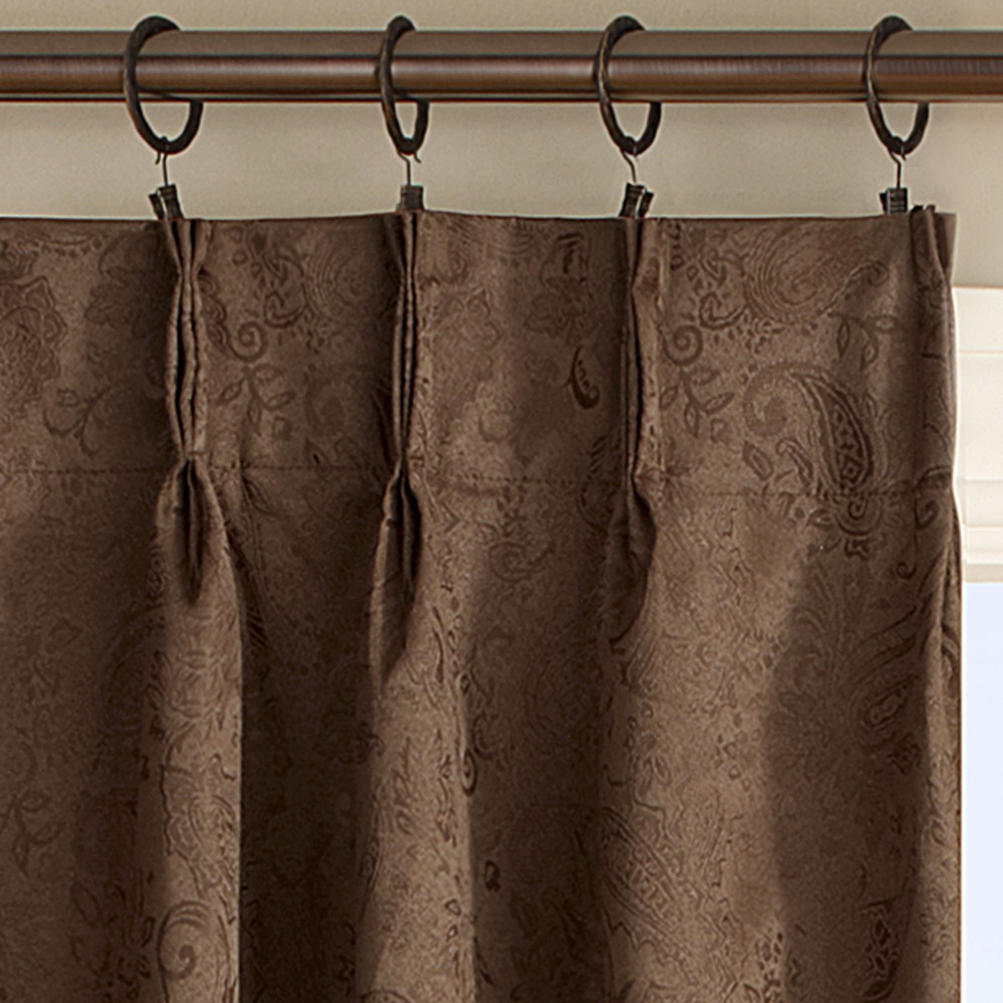 How To Hang Pinch Pleat Curtains With Hooks | www.redglobalmx.org for Pencil Pleat Curtains On Track  53kxo