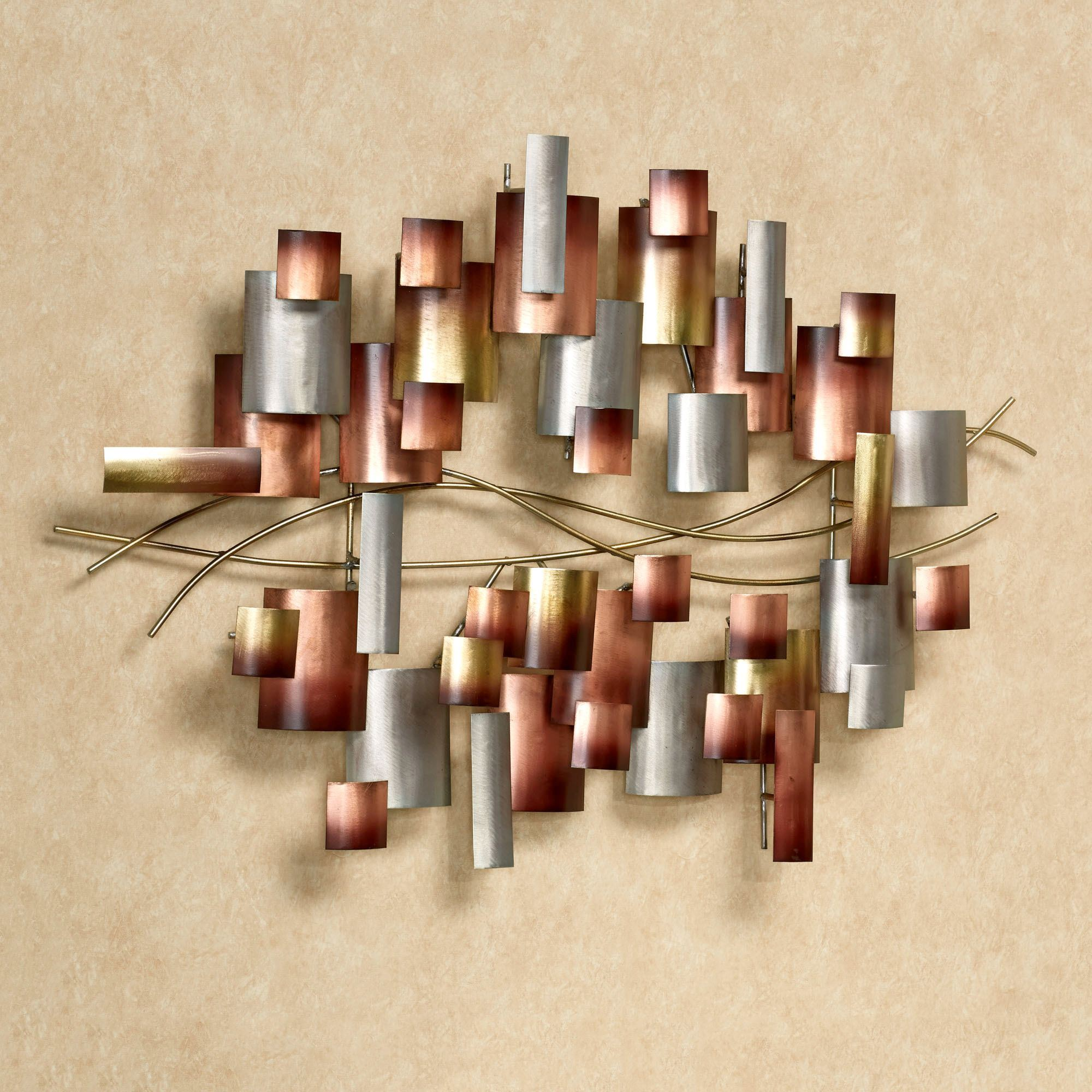 Inception Abstract Metal Wall Sculpture By Jasonw Studios