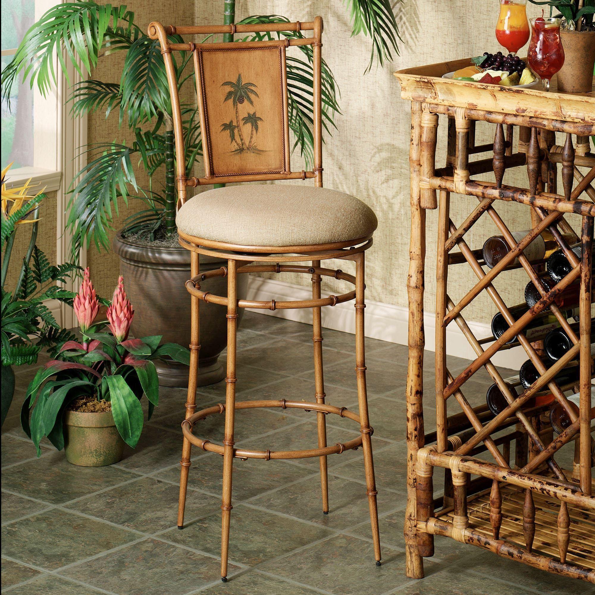 Royal Palm Tree Bar Stool