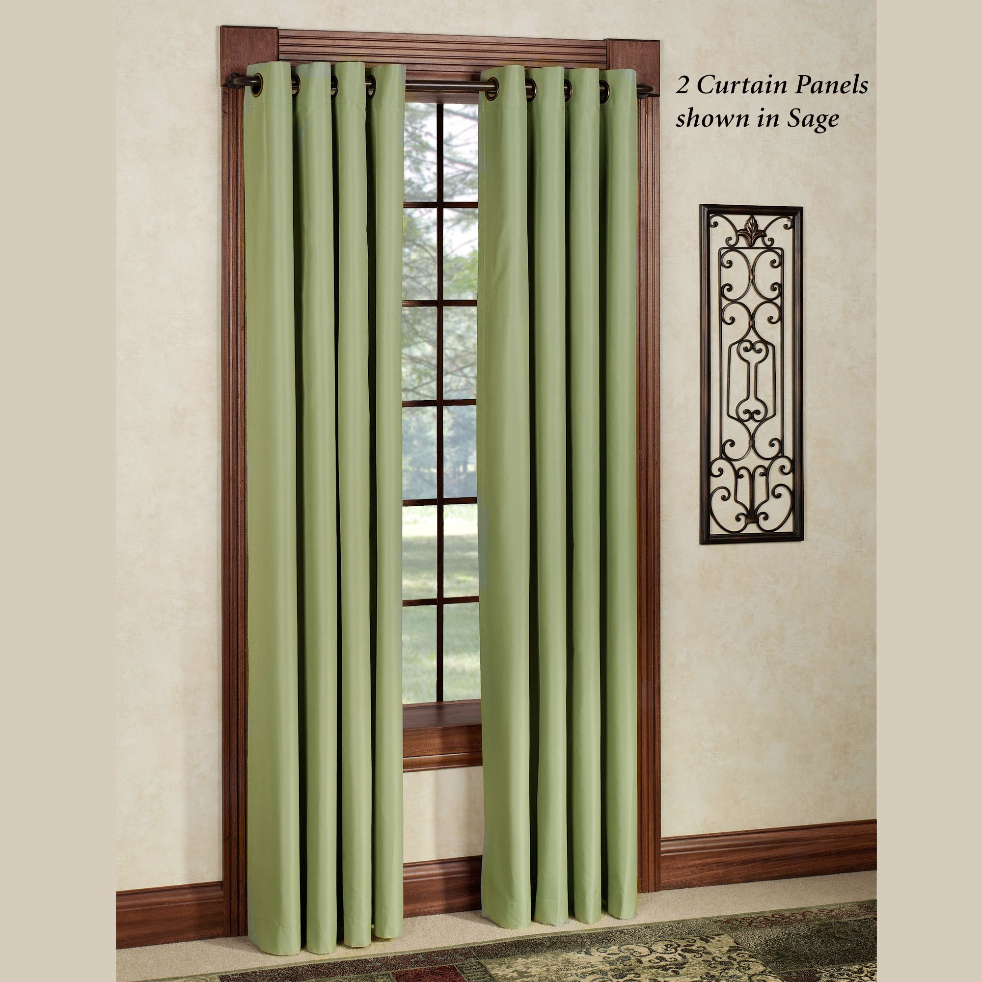 Thermal Elegance Grommet Curtain Panel