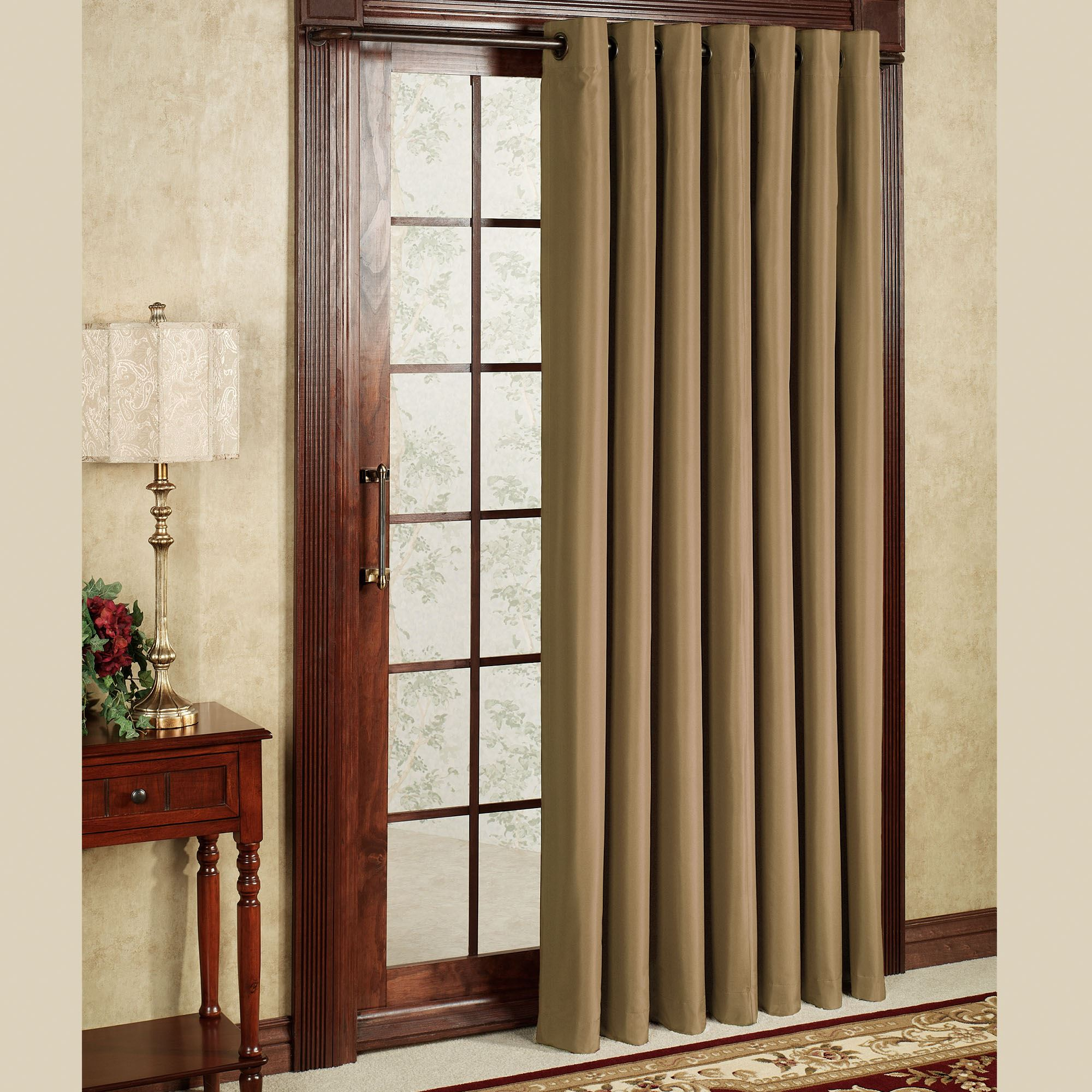 Attrayant FREE SHIPPING. Thermal Elegance Grommet Patio Panel ...