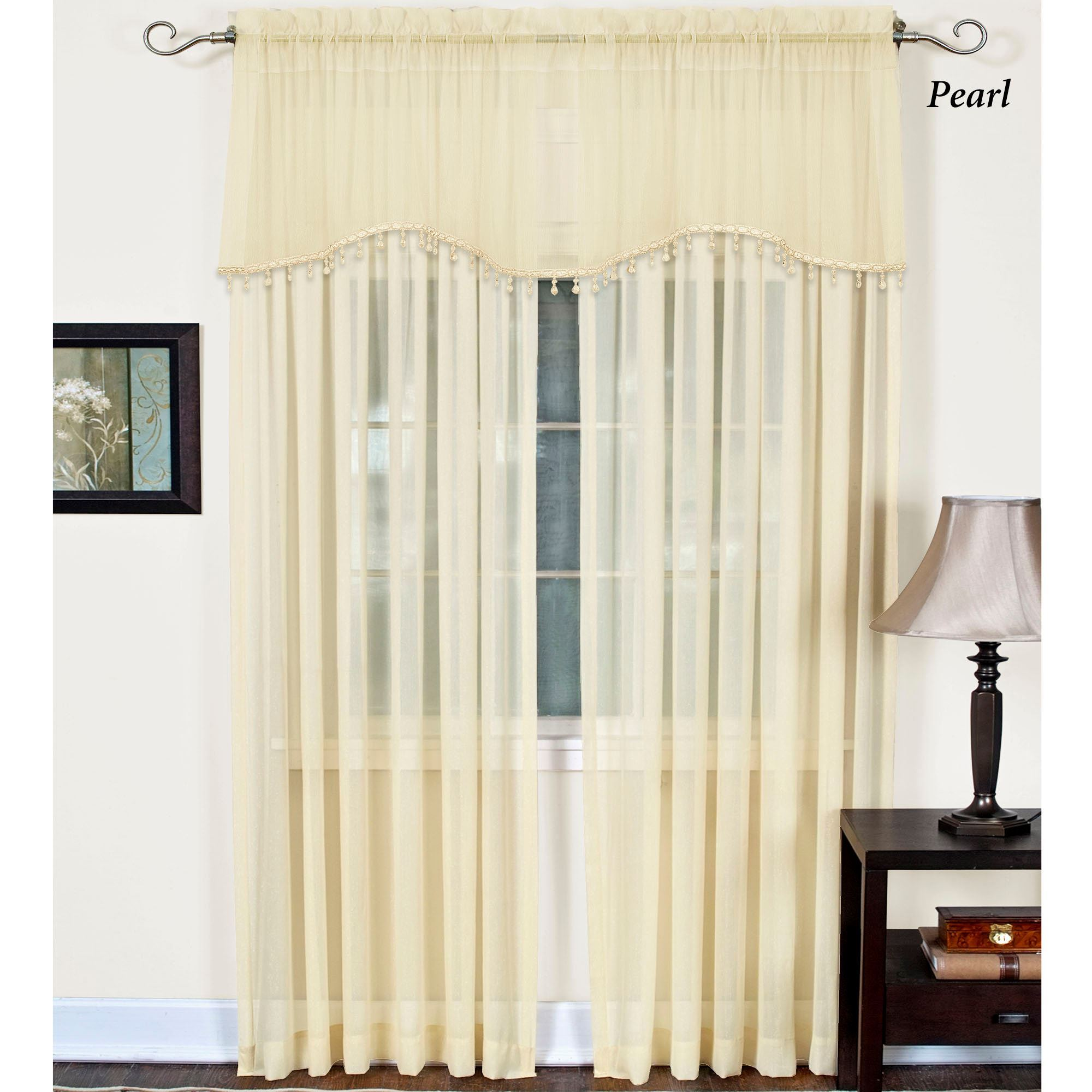 exclusive curtain silk panel shipping taffeta curtains fabrics overstock black free home product garden panels stripe gold today faux