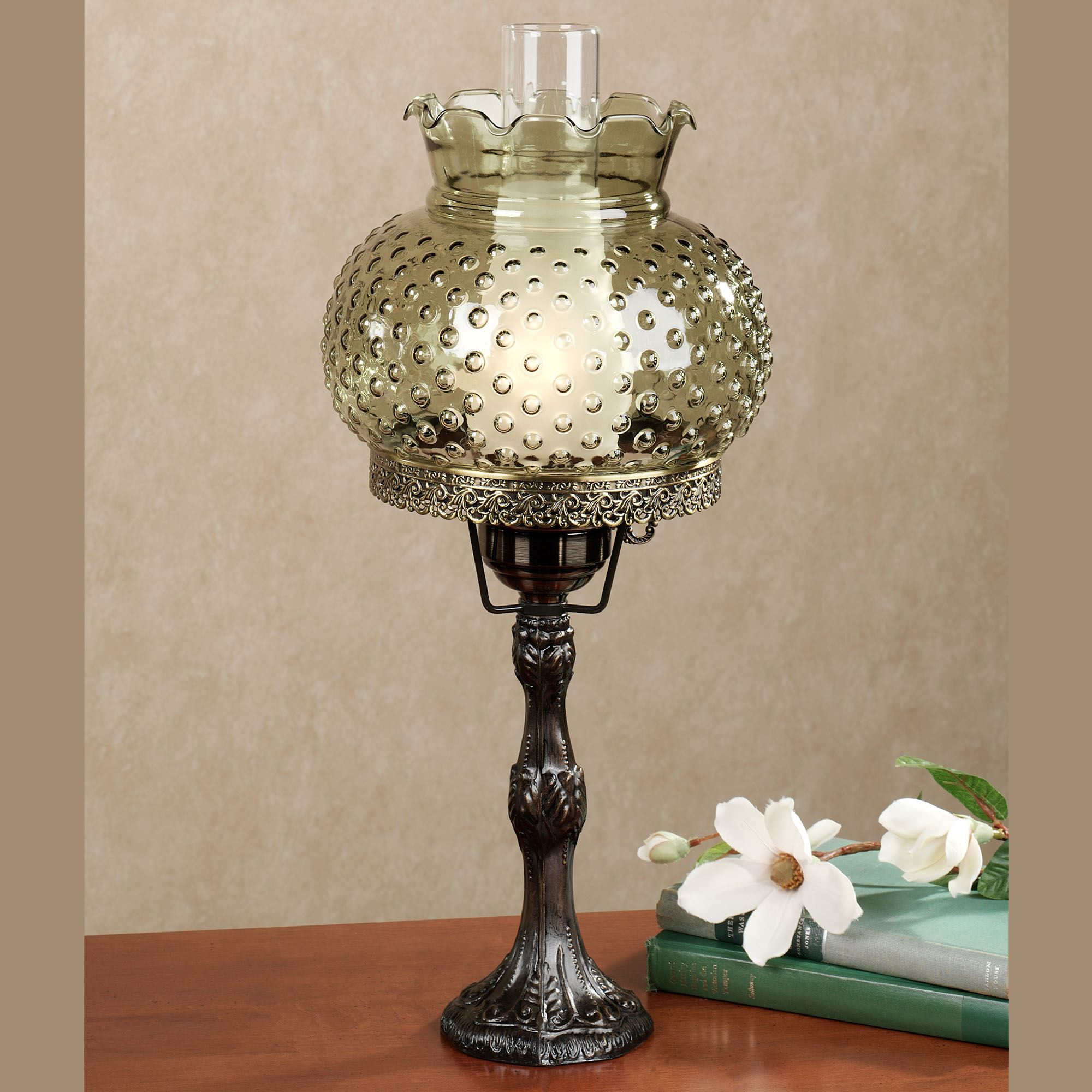 Ciara hobnail globe hurricane table lamp ciara hobnail table lamp click to expand aloadofball Gallery