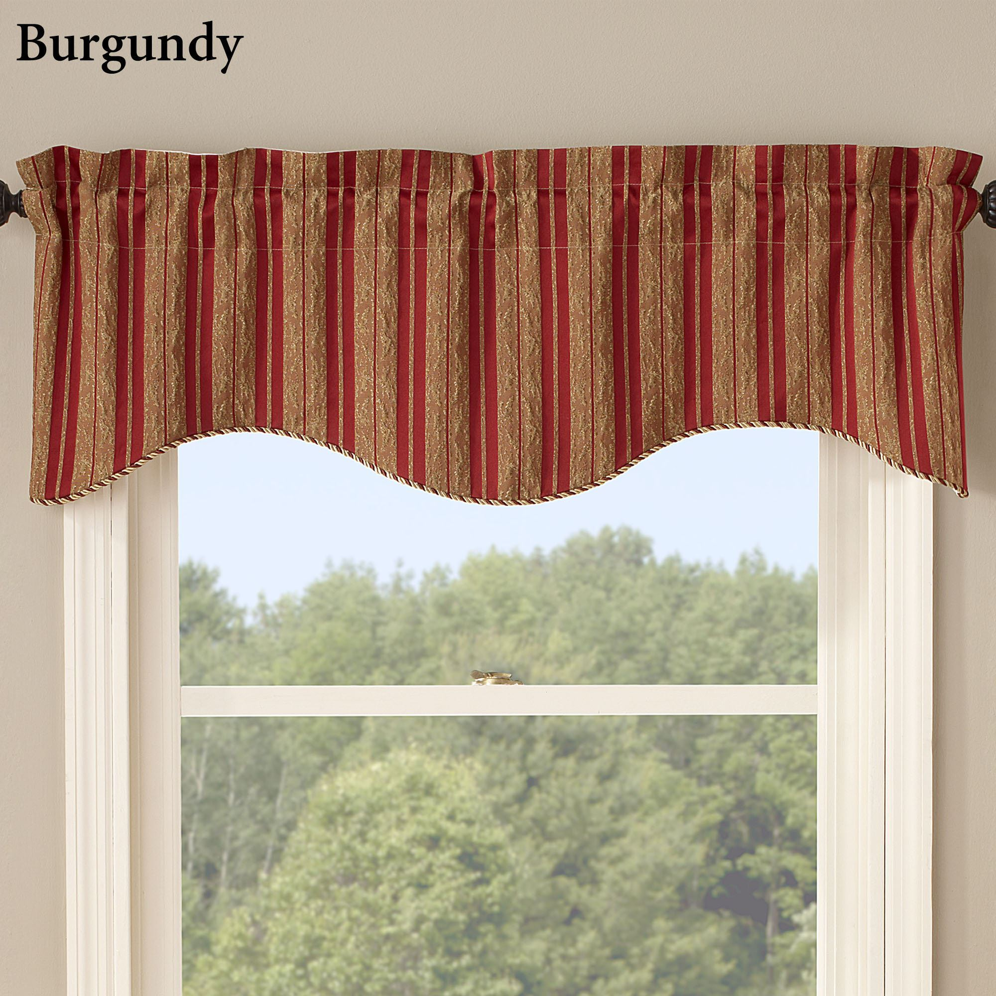 beige treatments swag lace inch love valances black window for living room youll curtains and valance burgundy pole swags