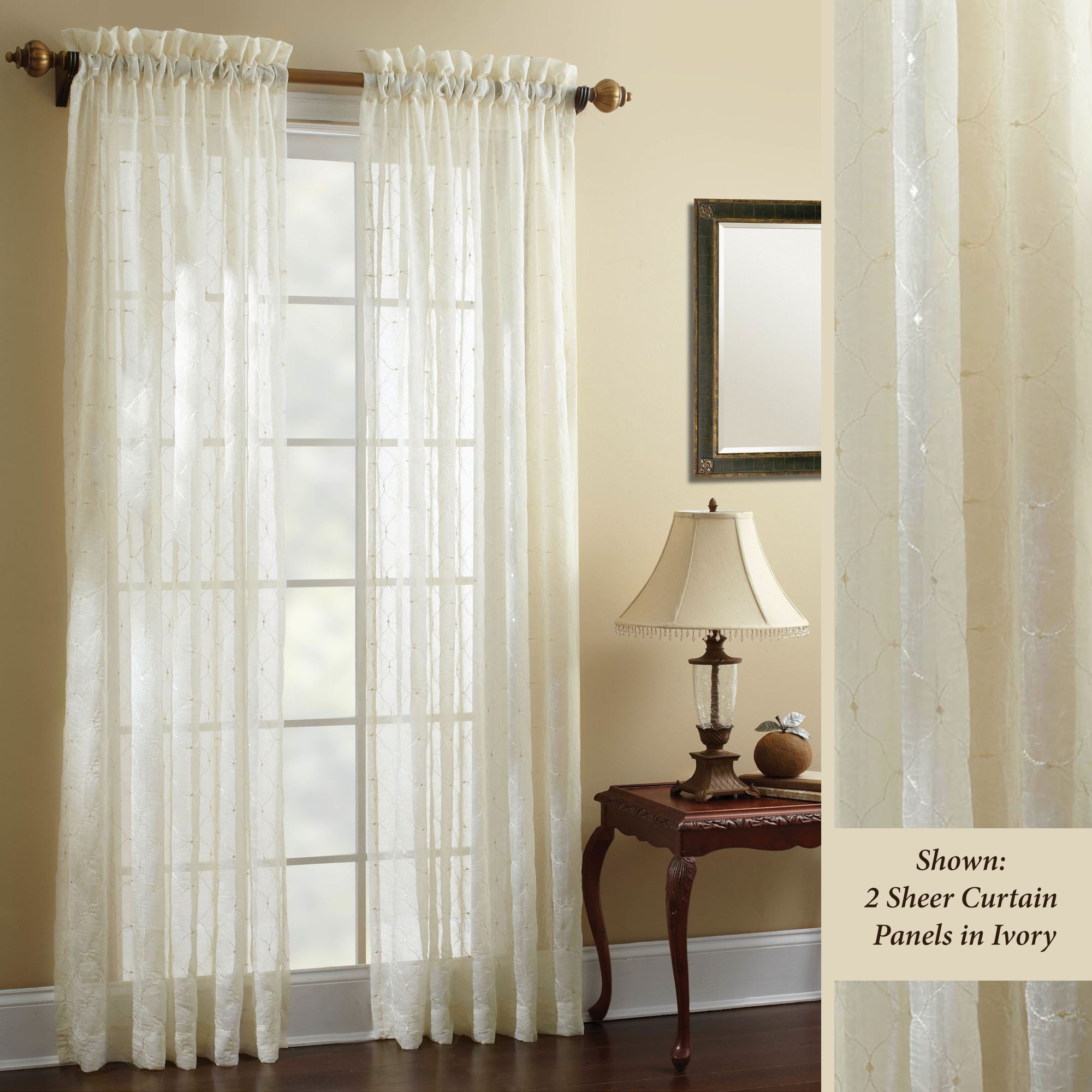 panel loading curtain sheer stripe panels chocolate zoom semi com curtainworks mystic