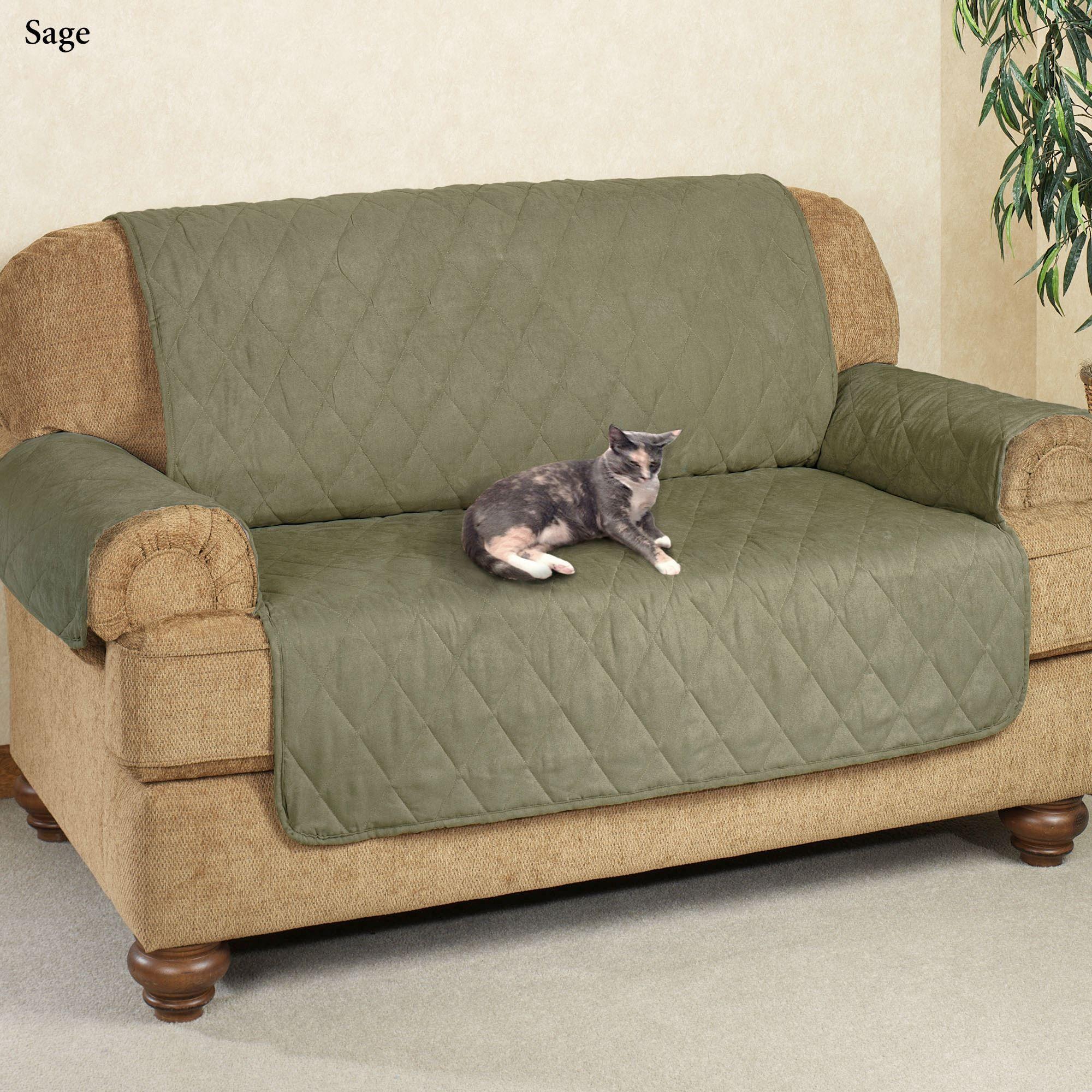 Stupendous Mason Quilted Microfiber Furniture Protectors Machost Co Dining Chair Design Ideas Machostcouk