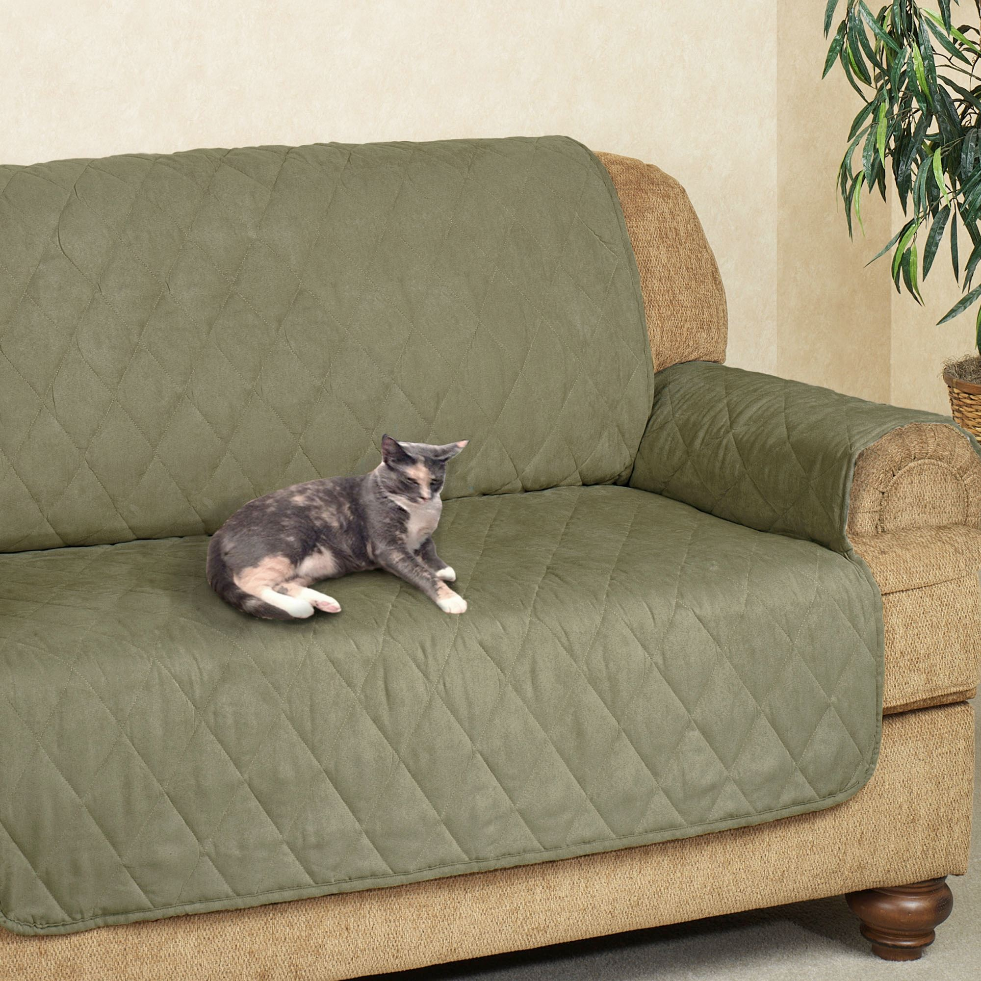 Exceptionnel Microfiber Pet Furniture Extra Long Sofa Cover