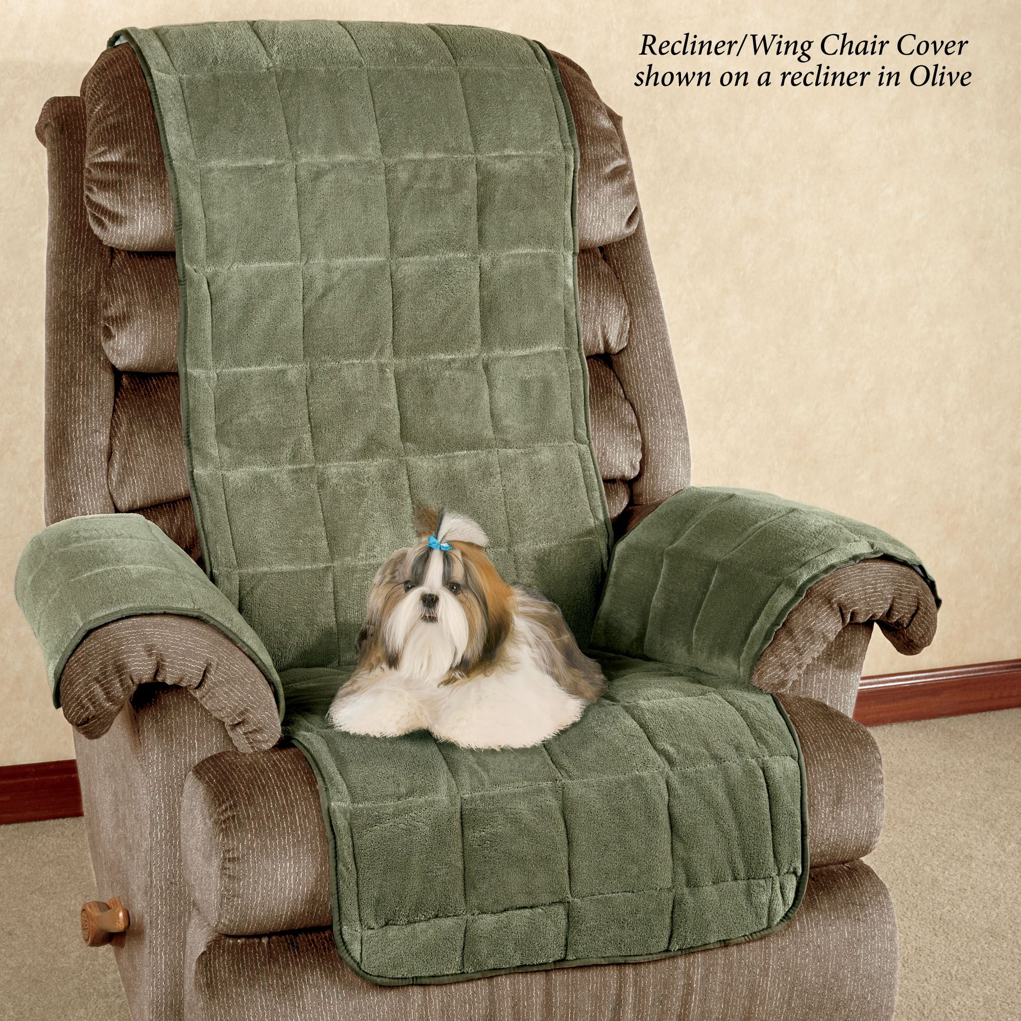 Peachy Microplush Pet Furniture Covers With Longer Back Flap Short Links Chair Design For Home Short Linksinfo
