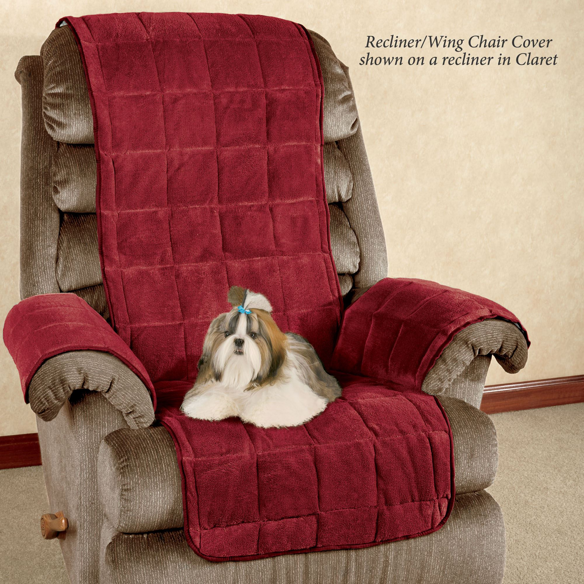 Awe Inspiring Microplush Pet Furniture Covers With Longer Back Flap Ibusinesslaw Wood Chair Design Ideas Ibusinesslaworg