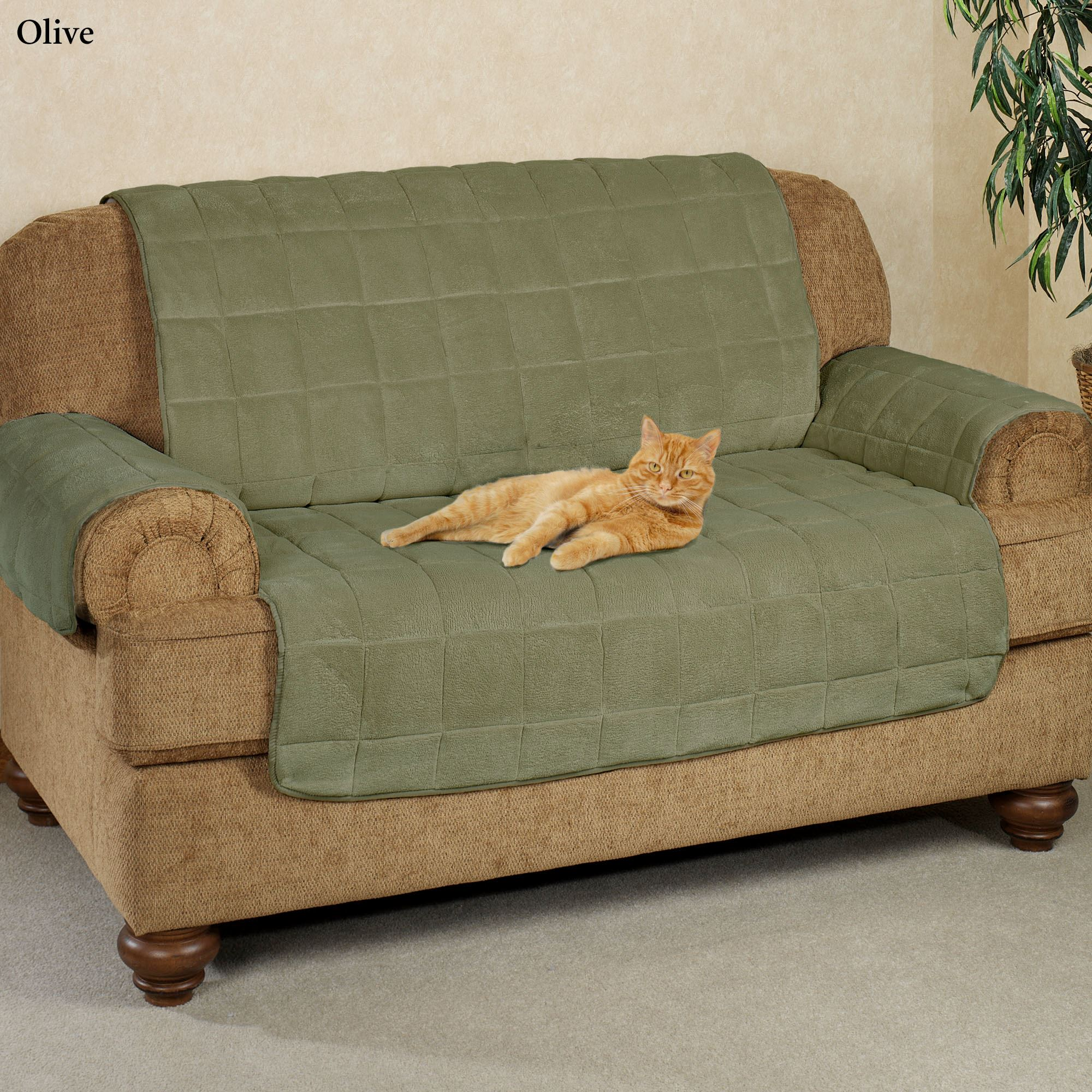 Pet Cover For Extra Large Couch 60 24: Microplush Pet Furniture Covers With Longer Back Flap